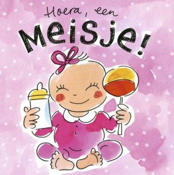blond-amsterdam-hoera-een-meisje-wenskaart-bl210